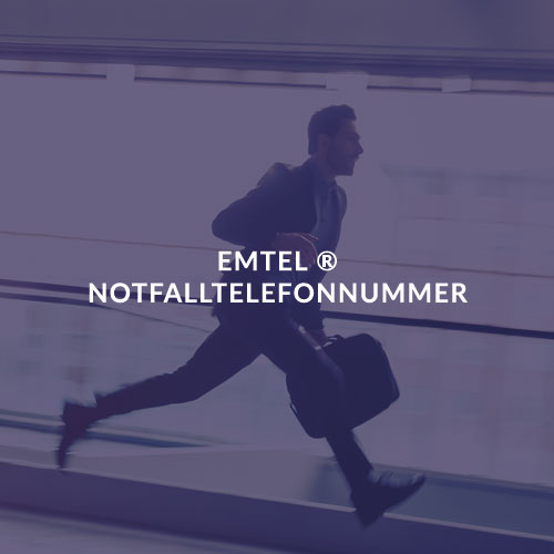 EMTEL ® NOTFALLTELEFONNUMMER