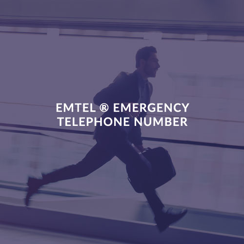 EMTEL ® EMERGENCY TELEPHONE NUMBER
