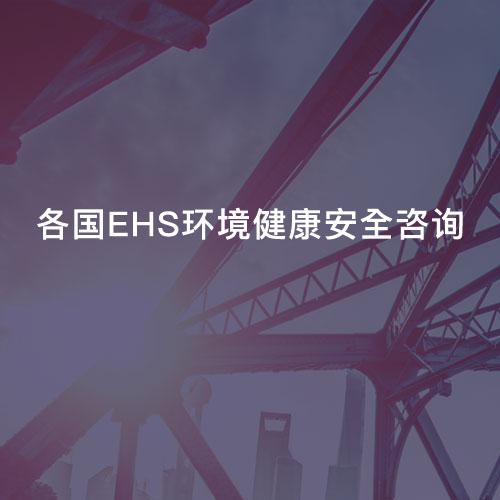各国EHS环境健康安全咨询